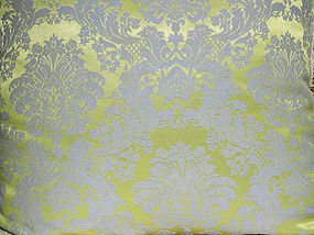Vintage Fortuny Style Brocade Pillow