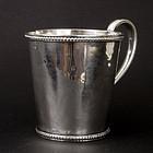 American Coin Silver Cup By W.K. Vanderslice
