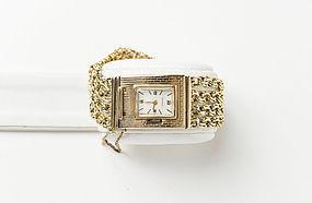 Ladies 14K Yellow Gold Baume & Mercier Bracelet Watch