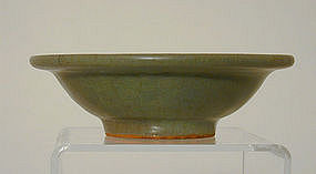A Chinese Celedon Small Bowl, Song  Dynasty