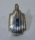 19th Century Miniature Sterling Silver Perfumer