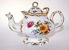 19th Century Dresden Porcelain Tea Pot
