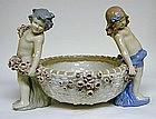 A Teplitz Amphora Art Pottery Centerbowl, c1920