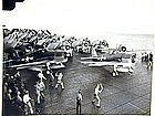 WWII  Fighter Planes on the USS Bunker Hill, 1943