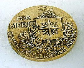 Rare CIA Commemorative Medal of Merit