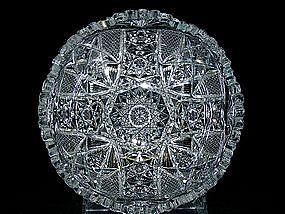 19th Century American Brilliant Cut  crystal Bowl