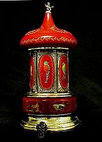 Vintage Hand Painted Italian Musical Carousel