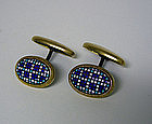 Edwardian Micromosaic Bean Back 
