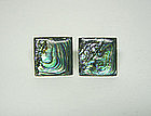 Art Deco Taxco Abalone And Silver 