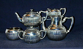 An American Silver Tea And Coffee 