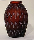 "A Lalique Vase ""Grignon"" Circa 1932"