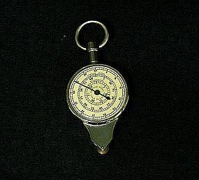 Vintage Nautical Distance Map Measurer  compass
