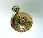 Antique American 14k Gold Illinois Pocket 