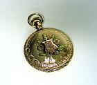 Antique American 14k Gold Illinois Pocket  Watch