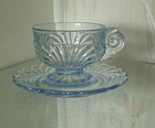 Cambridge CAPRICE Cup and Saucer Set, Moonlight Blue