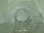 "Cambridge CAPRICE 6"" Handled Lemon Plate Moonlight Blue"