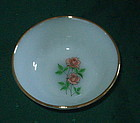 "Fire King ANNIVERSARY ROSE 4 5/8"" Dessert Bowl"