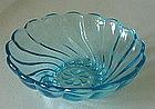 "Hazel Atlas SEASHELL 4 3/4"" Dessert Bowls (5), CAPRI"