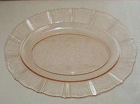 "MacBeth-Evans AMERICAN SWEETHEART 13"" Oval Platter"