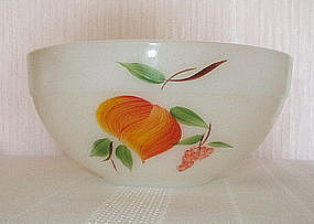 "Fire King GAY FAD Fruits 7 3/16"" Bowl, Country Kitchen"