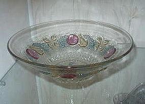 "estmoreland DELLA ROBBIA 12"" Flared Bowl, Pastel Stain"