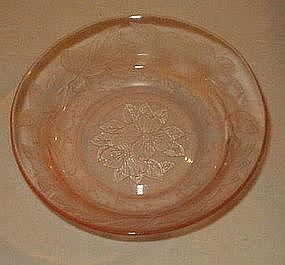 """MacBeth-Evans DOGWOOD 5 1/4"""" Cereal Bowl, Pink"""