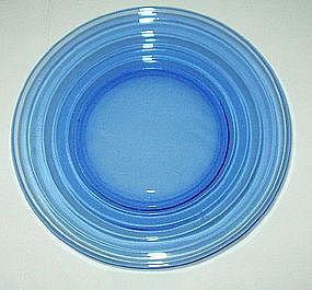 "Hazel Atlas MODERNTONE 5 7/8"" Sherbet Plates 19, Cobalt"