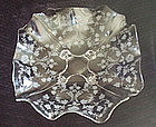 """Cambridge ROSELYN 11"""" 4 Footed Console Bowl, Crystal"""