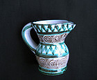 French pitcher by Robert Picault, Vallauris, c 1960