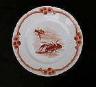 Italian  Ginori plate, c 1900