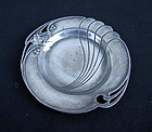 German Jugendstil WMF small pewter dish