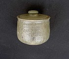 Danish Hjorth lidded jar