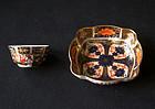English Royal Crown Derby Imari miniature Bowls, antique