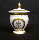 Dessert cup by Darte, Paris, for the Swedish King, 1820