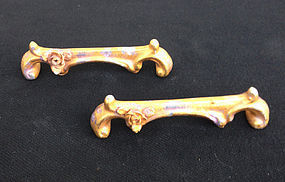 German Rudolstadt knife rests