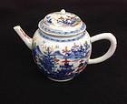 Chinese export teapot, Qianlong c 1750