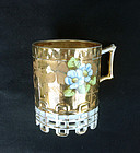Russian Imperial mug by Kuznetsov, late 19th century