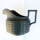 Black basalt milk jug
