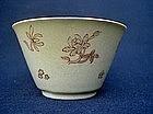 Cafe-au-lait coloured tea bowl