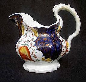 Gaudy Welsh pitcher, Victorian