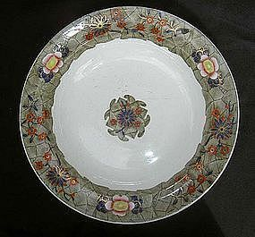 Transfer printed Spode soup plate, early 19th c
