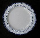 Wedgwood feather edge plates
