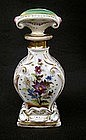 French porcelain 19th c perfume/scent bottle