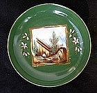 Russian Kuznetsov saucer plate