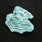 Vintage Mermaid ceramic pin
