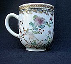 Chinese Export cup with European border decoration