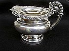 Sheffield plate cream jug