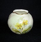 An English Worcester vase, Victorian
