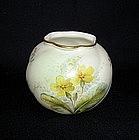 An English Worcester vase