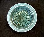 Poole Pottery Studio ware bowl with a sea urchin